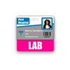 LAB Badge Buddy Horizontal Standard Size
