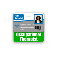 Occupational Therapist Badge Buddy Horizontal Standard Size