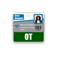 OT Badge Buddy Horizontal Standard Size