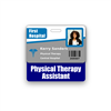 Physical Therapy Assistant Badge Buddy Horizontal Standard Size