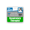 Respiratory Therapist Badge Buddy Horizontal Standard Size