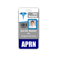 APRN Badge Buddy Vertical Standard Size