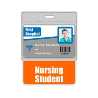 Nursing Student Badge Buddy Horizontal Oversized