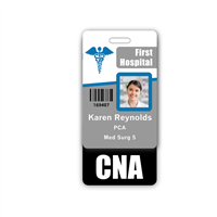 CNA Badge Buddy Vertical Standard Size