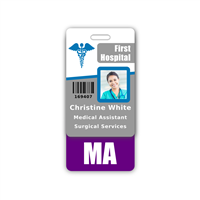 MA Badge Buddy Vertical Standard Size