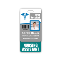 NURSING ASSISTANT Badge Buddy Vertical Standard Size