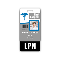 LPN Badge Buddy Vertical Standard Size