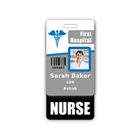 NURSE Badge Buddy Vertical Standard Size