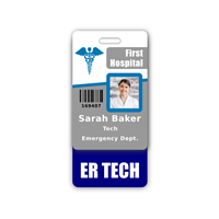 ER TECH Badge Buddy Vertical Standard Size