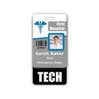 TECH Badge Buddy Vertical Standard Size