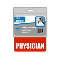 PHYSICIAN Badge Buddy Horizontal Oversized