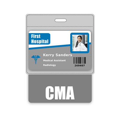 CMA Badge Buddy Horizontal Oversized