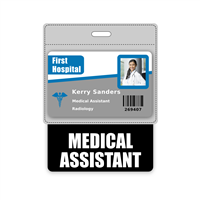 MEDICAL ASSISTANT Badge Buddy Horizontal Oversized