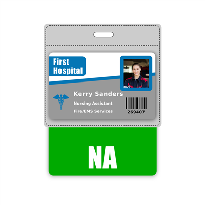 NA Badge Buddy Horizontal Oversized