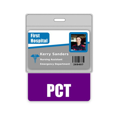 PCT Badge Buddy Horizontal Oversized
