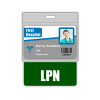 LPN Badge Buddy Horizontal Oversized