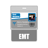EMT Badge Buddy Horizontal Oversized