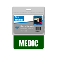 MEDIC Badge Buddy Horizontal Oversized