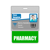 PHARMACY Badge Buddy Horizontal Oversized