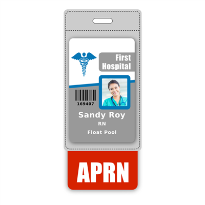 APRN Badge Buddy Vertical Oversized