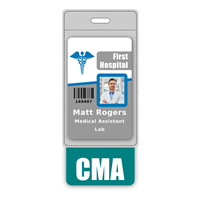 CMA Badge Buddy Vertical Oversized