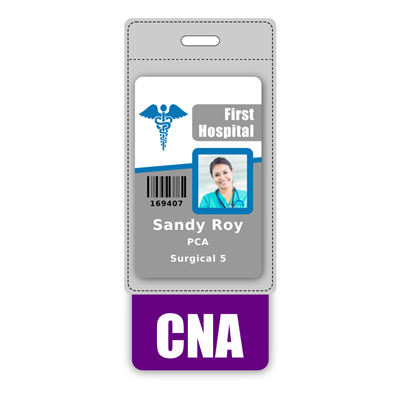CNA Badge Buddy Vertical Oversized