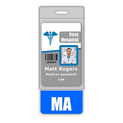 MA Badge Buddy Vertical Oversized