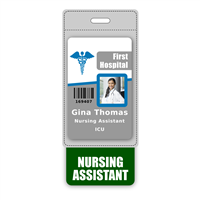 NURSING ASSISTANT Badge Buddy Vertical Oversized