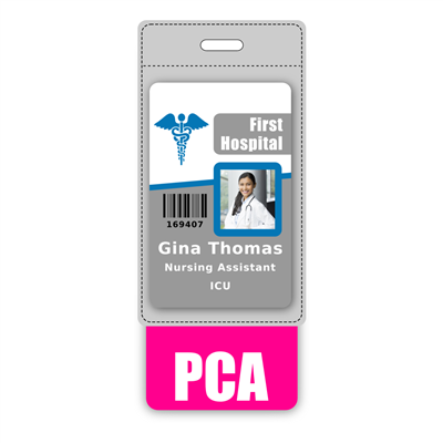PCA Badge Buddy Vertical Oversized