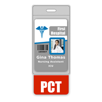 PCT Badge Buddy Vertical Oversized