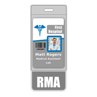RMA Badge Buddy Vertical Oversized