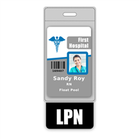 LPN Badge Buddy Vertical Oversized