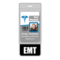 EMT Badge Buddy Vertical Oversized