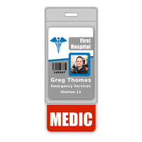 MEDIC Badge Buddy Vertical Oversized