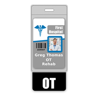 OT Badge Buddy Vertical Oversized