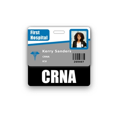 CRNA Badge Buddy Horizontal Standard Size