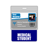 Medical Student Badge Buddy Horizontal Oversized