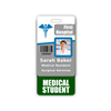 Medical Student Badge Buddy Vertical Standard Size