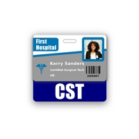 CST Badge Buddy Horizontal Standard Size