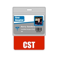 CST Badge Buddy Horizontal Oversized