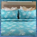 Coral Reef Bed Skirt