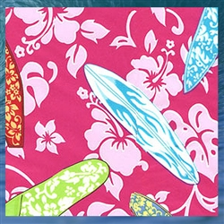 Blue Glassy Girl Pillowcase