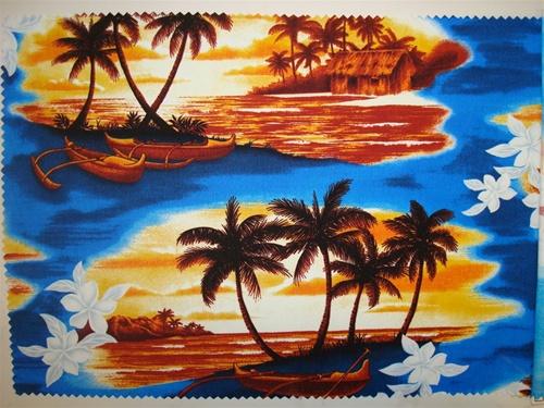 Blue Island Fabric