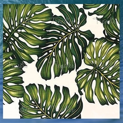 Tropical Print Fleece Blanket