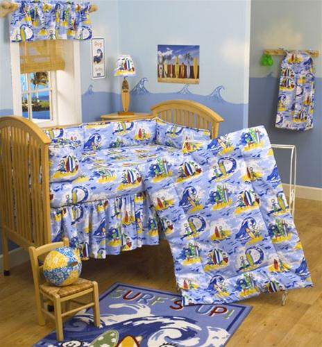 Hawaiian Crib Bedding