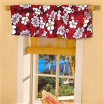 Tropical Print Valance