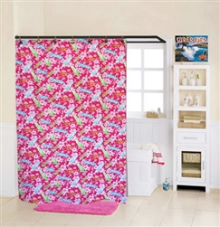 Girl Shower Curtain
