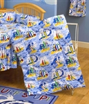 Hawaiian Crib Comforter
