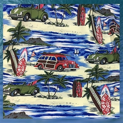 Woody Car Fabric