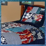 Hawaiian Patchwork Quilt Duvet Cover